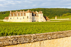 Clos Blanc De Vougeot Castle Royalty Free Stock Photo