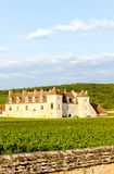 Clos Blanc De Vougeot Castle Stock Photography