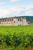 Clos Blanc De Vougeot Castle Stock Image