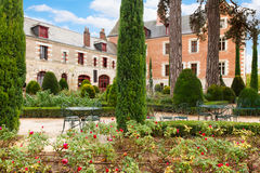Clos de Luce, house of Leonardo da Vinci, France Stock Photo