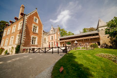 Clos Luce in Amboise interior Royalty Free Stock Image