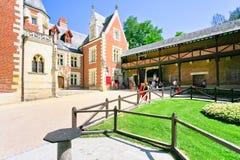 Clos Luce Museum in Amboise Lizenzfreie Stockfotos