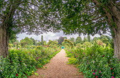 The Clos Normand house of Claude Monet garden Famous French impr Royalty Free Stock Images