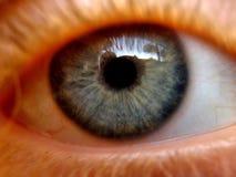 Clos para arriba de un ojo Imágenes de archivo libres de regalías