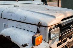 Close on a Bandeirante truck from Toyota. royalty free stock image