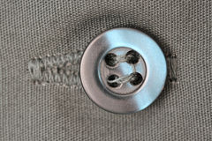 Close of a button Royalty Free Stock Photo