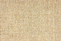 Close cloth weave. A close view of the weave from a heavy piece of fabric Royalty Free Stock Photo