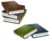 Close color books Royalty Free Stock Photography