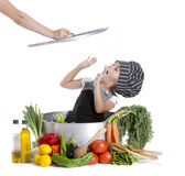 Close cook Royalty Free Stock Photo