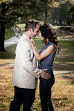 Close Couple Portrait Royalty Free Stock Photos