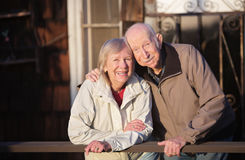 Close Couple Smiling Royalty Free Stock Image