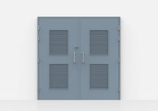 Close Door in  Wall Royalty Free Stock Photography
