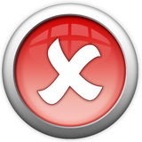 Close exit button Royalty Free Stock Photo