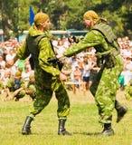 Close fight 2 Stock Photo