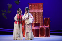 "Close friend private words-Kunqu Opera ""the West Chamber"" Stock Photo"