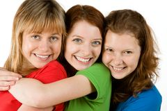 Close friends royalty free stock photo
