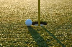 Close Golf Shot Royalty Free Stock Photo