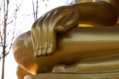 Close-hand Buddha. Stock Photos