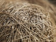 Close up of bale of hay stock images