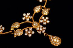 Close of Indian Jewellery. Royalty Free Stock Images