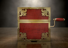 Close Jack-In-The-Box Antique Royalty Free Stock Photography