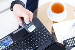 Internet Banking Stock Photography