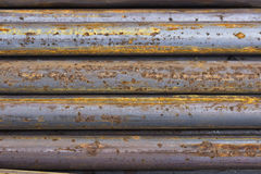 Close Of Rusty Iron Rods 4 Stock Images