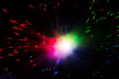 Close op of fiber optics Royalty Free Stock Photography