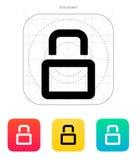 Close padlock icon. Vector illustration vector illustration