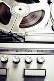 Close Photo of Vinytl Record Player Royalty Free Stock Images