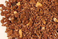 Close picture of the muesli Stock Photos