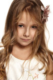 Close portrait of a child Royalty Free Stock Images