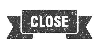 close ribbon. vector illustration