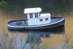 Close on Small Tug Boat Stock Photo