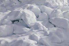 close snow texture up white Стоковая Фотография RF