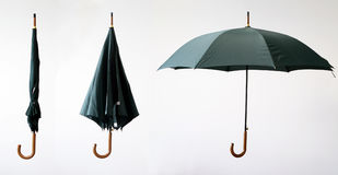 From close to open. One umbrella from close to open Royalty Free Stock Photos
