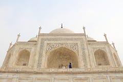 Close to the taj mahal Stock Image