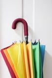 Close umbrella royalty free stock images
