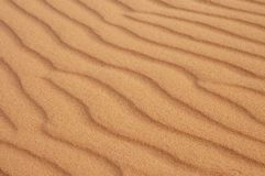 Close uo of sandune ripples Stock Images