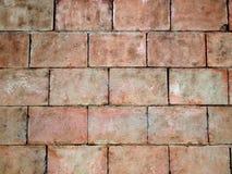 Close-up Ściana z cegieł Fotografia Stock