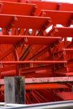 Close-up затворов на paddleboat Стоковые Фотографии RF