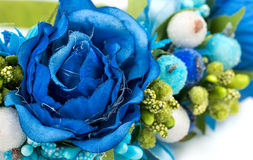 Close-up искусственних цветков Стоковые Изображения RF