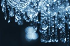Close-up канделябра Chrystal Стоковая Фотография RF