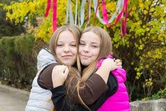 Close-up милых близнецов   Стоковое Фото