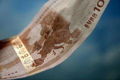 The close-up of 10 Euros Stock Photos