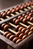 Close-Up Of Abacus royalty free stock photos