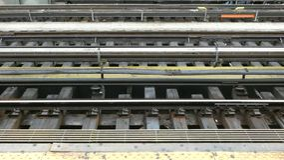 Subway Tracks stock images