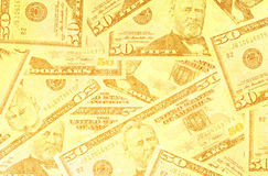 Abstract US dollar. Close up of abstract US dollar Royalty Free Stock Images