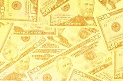 Abstract US dollar. Close up of abstract US dollar vector illustration