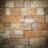 Close up Abstract Wooden block background Stock Photography